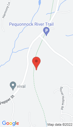 Map of Single Family Home on 56 Secret Hollow Road,Monroe, CT