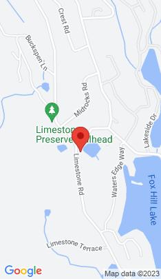 Map of multi family home on 360 Limestone Road,Ridgefield, CT
