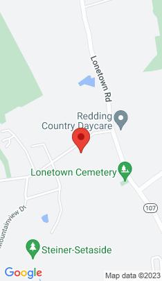 Map of Single Family Home on 148 Limekiln Road,Redding, CT