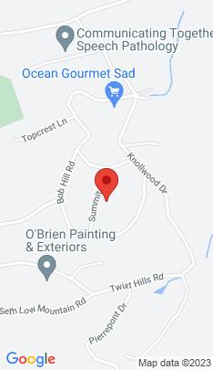 Map of Single Family Home on 14 Summit Lane,Ridgefield, CT