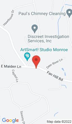 Map of Single Family Home on 155 Fan Hill Road,Monroe, CT