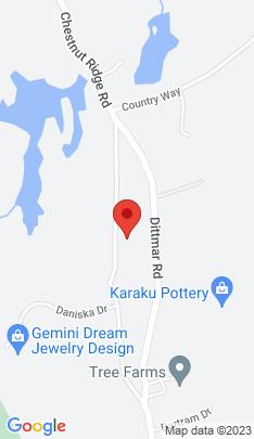Map of Single Family Home on 230 Chestnut Ridge Road,Bethel, CT