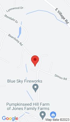 Map of Single Family Home on 182 Beardsley Road,Shelton, CT