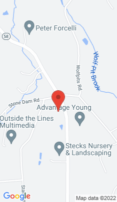 Map of Single Family Home on 2 B Starr Lane,Bethel, CT