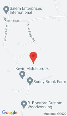 Map of Single Family Home on 157 Brushy Hill Road,Newtown, CT