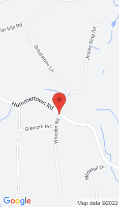 Map of Single Family Home on 135 Hammertown Road,Monroe, CT