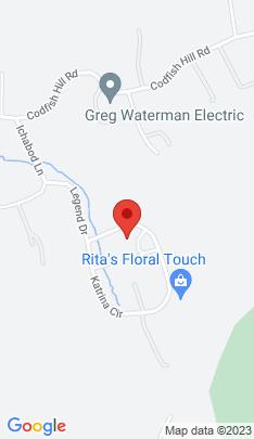 Map of Single Family Home on 18 Katrina Circle,Bethel, CT