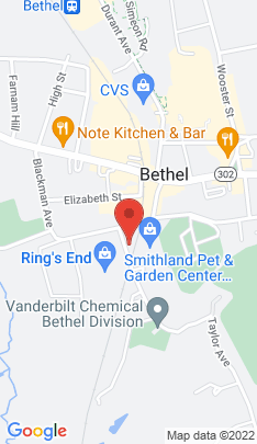 Map of Single Family Home on 6 Taylor Avenue,Bethel, CT