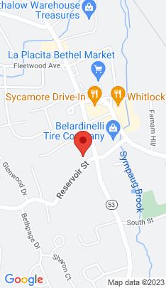 Map of Multi Family Home on 5 Reservoir Street,Bethel, CT