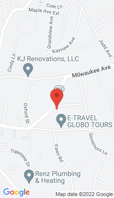 Map of Single Family Home on 20 Greenwood Avenue,Bethel, CT