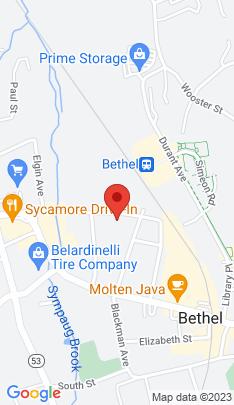 Map of Single Family Home on 20 Diamond Avenue,Bethel, CT