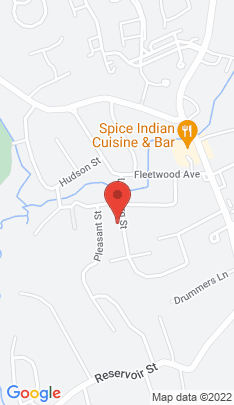 Map of Single Family Home on 13 Lindberg Street,Bethel, CT