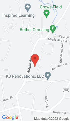Map of Single Family Home on 3 Crossing Way,Bethel, CT