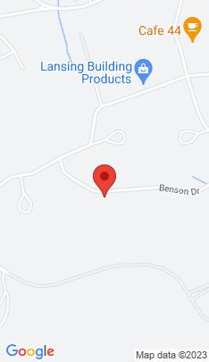 Map of Single Family Home on 48 Benson Drive,Danbury, CT