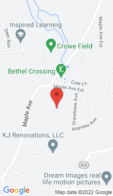 Map of Single Family Home on 18 Crossing Way,Bethel, CT