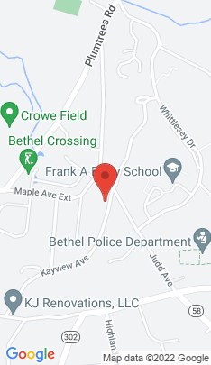 Map of Single Family Home on 44 Kayview Avenue,Bethel, CT