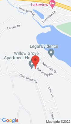 Map of Single Family Home on 20 Windaway Road,Danbury, CT