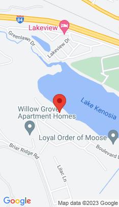 Map of Single Family Home on 109 Boulevard Drive,Danbury, CT