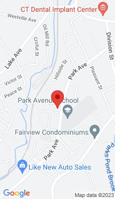 Map of Condo Home on 81 Park Avenue,Danbury, CT