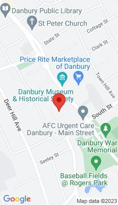 Map of Condo Home on 22 Main Street,Danbury, CT