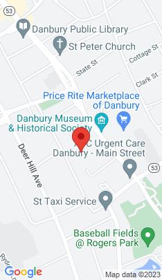 Map of Multi Family Home on 41 Grand Street,Danbury, CT