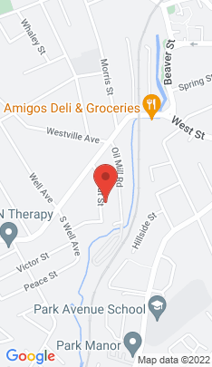 Map of Single Family Home on 17 Crofut Street,Danbury, CT