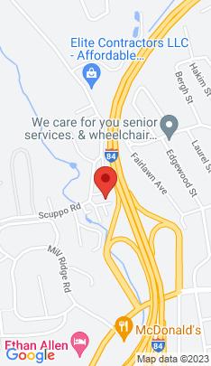 Map of Condo Home on 10 Scuppo Road,Danbury, CT