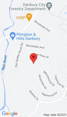 Map of Single Family Home on 42 Topstone Drive,Danbury, CT