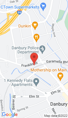 Map of Condo Home on 10 Franklin Street,Danbury, CT