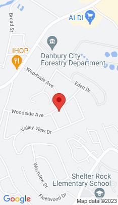 Map of Single Family Home on 26 Woodside Avenue,Danbury, CT