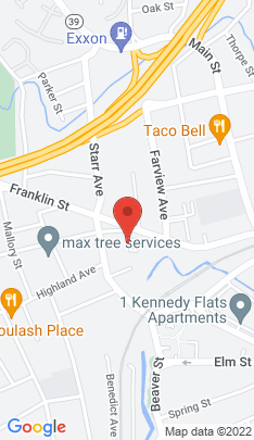 Map of Condo Home on 56 Franklin Street,Danbury, CT