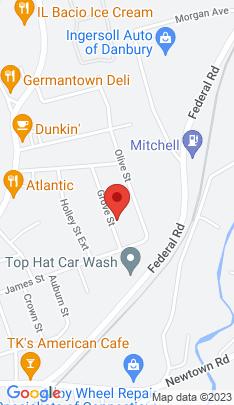 Map of Multi Family Home on 5 Grove Street,Danbury, CT