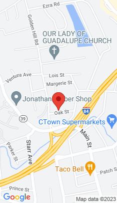 Map of Single Family Home on 7 Oak Street,Danbury, CT