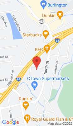 Map of Multi Family Home on 10 Madison Avenue,Danbury, CT