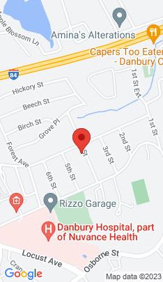 Map of Condo Home on 14 4th Street,Danbury, CT
