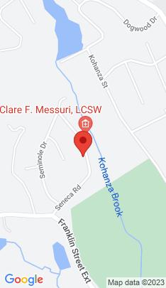 Map of Single Family Home on 18 Seneca Road,Danbury, CT