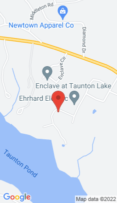 Map of Single Family Home on 29 Taunton Lake Drive,Newtown, CT