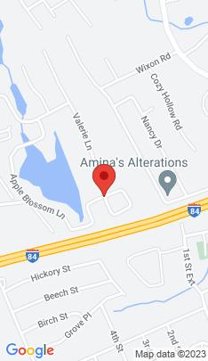 Map of Single Family Home on 55 Apple Blossom Lane,Danbury, CT