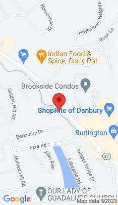 Map of Condo Home on 34a Padanaram Road,Danbury, CT