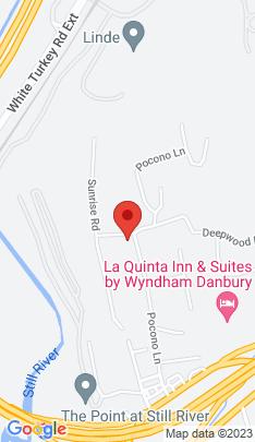 Map of Single Family Home on 2 Sunrise Road,Danbury, CT