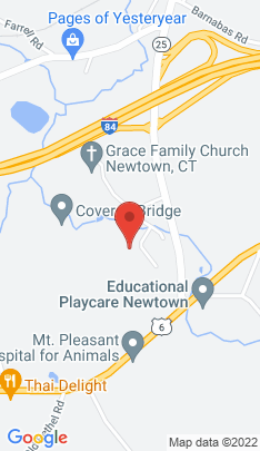 Map of Single Family Home on 4 Hillcrest Drive,Newtown, CT