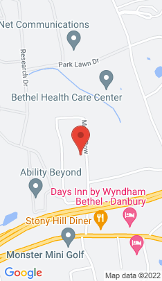 Map of Single Family Home on 11 Maple Row,Bethel, CT