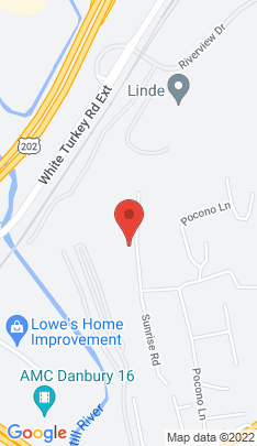 Map of Single Family Home on 24 Sunrise Road,Danbury, CT