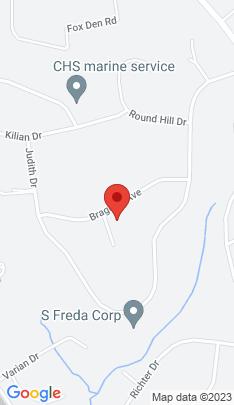 Map of Single Family Home on 12 Bragdon Avenue,Danbury, CT