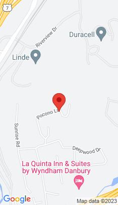 Map of Single Family Home on 45 Pocono Lane,Danbury, CT