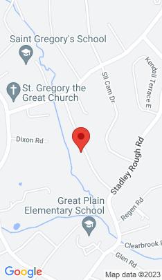 Map of Single Family Home on 21 Woodbury Drive,Danbury, CT