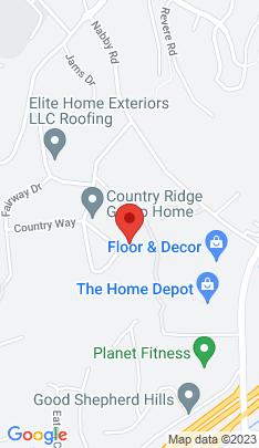 Map of Single Family Home on 12 Country Ridge Road,Danbury, CT