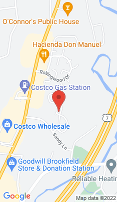 Map of Condo Home on 100 Homestead Lane,Brookfield, CT