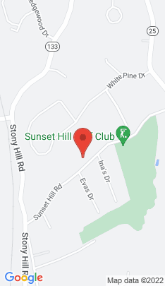 Map of Single Family Home on 18 Sunset Hill Road,Brookfield, CT