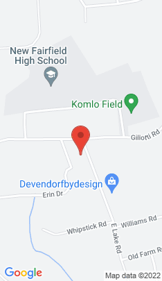 Map of Single Family Home on 4 Lake Road,New Fairfield, CT